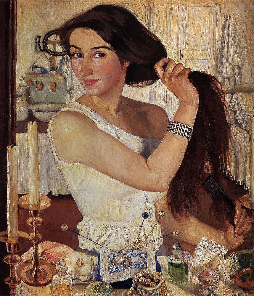 Zinaida Serebriakova - Self Portrait   Zinaida Yevgenyevna S…   Flickr