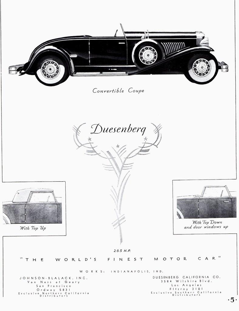 1931 Duesenberg Model J Convertible Coupe | Alden Jewell | Flickr