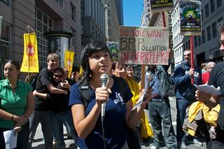 Make Big Oil Pay march to Chevron, EPA & BP 434