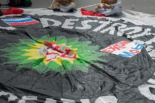 Make Big Oil Pay march to Chevron, EPA & BP 396