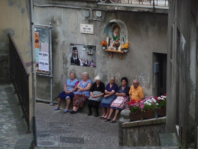Anziane di Tiriolo