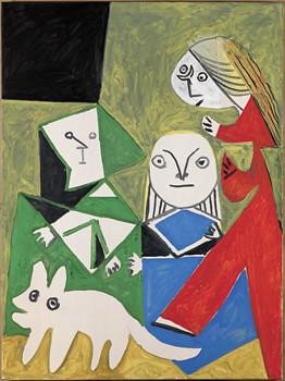 P ] Pablo Picasso , After Las Meninas (1957)