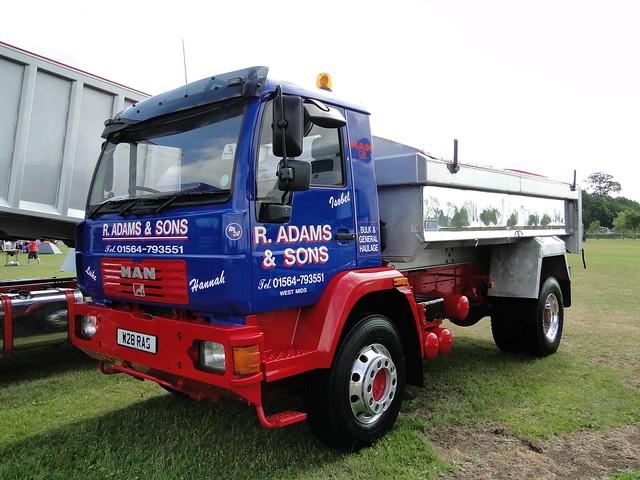 R. Adams & Sons MAN CLA Truck W28 RAS