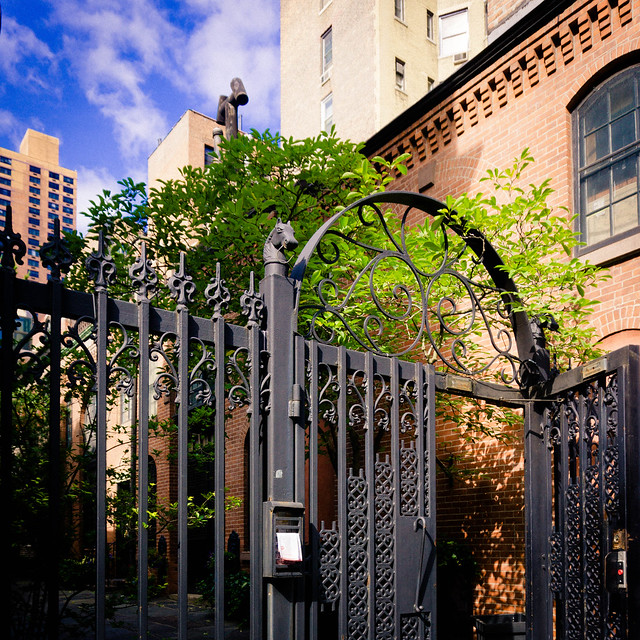 Sniffen Court, East 36th Street, between Lexington & 3rd Avenues, Murray Hill, NYC