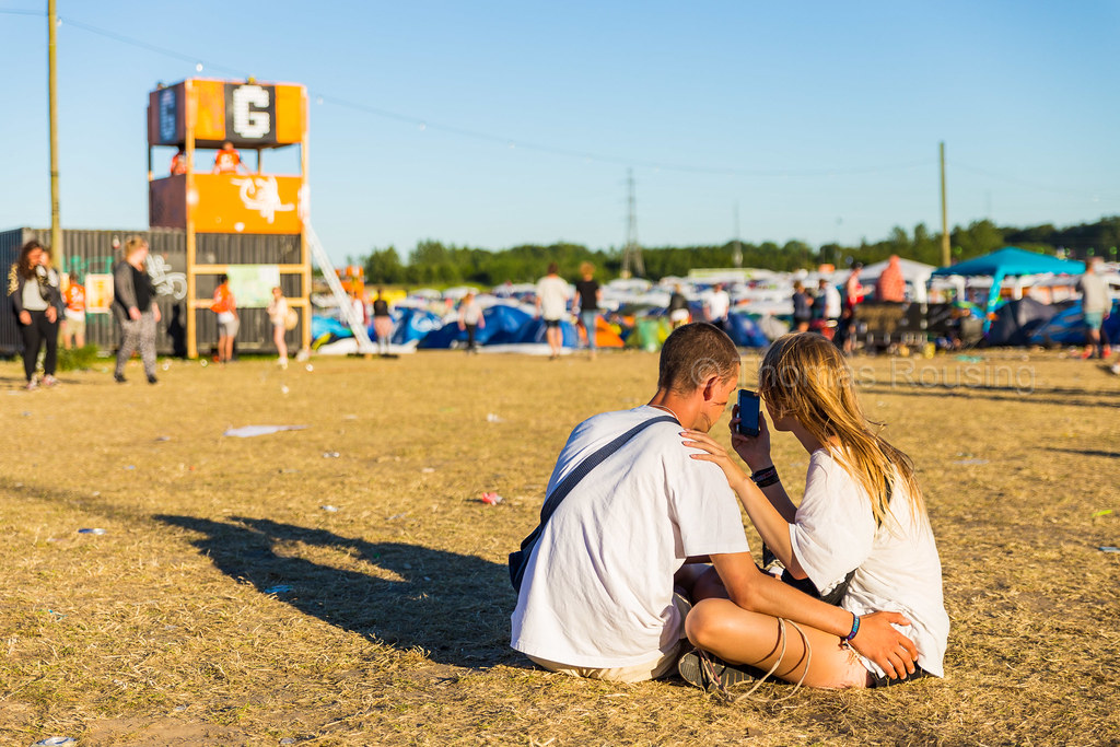 Roskilde Festival - Young love