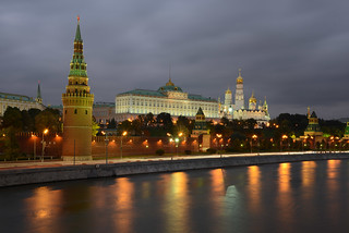 The Grand Kremlin Palace and Cathedral Square within the Kremlin | by Jorge Lascar