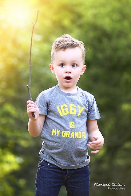 Iggy is my gran pa