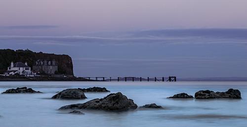 longexposure sea seascape beach water canon landscape scotland seaside rocks waterfront fife nd bluehour seashore waterscape aberdour fifecoastalpath fifecoast grantmorris aberdourpier grantmorrisphotography