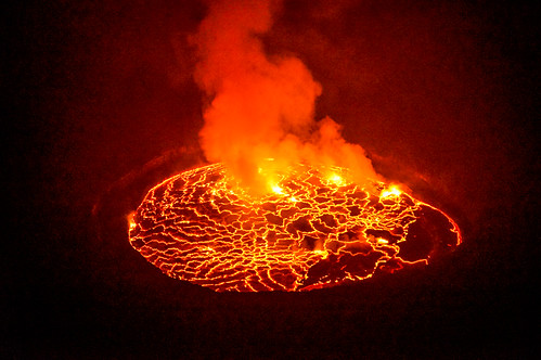 Nyiragongo volcano | by Ninara31