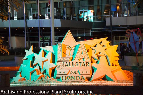 NHL All Star sand sculpture 2017-4379 | by archisand