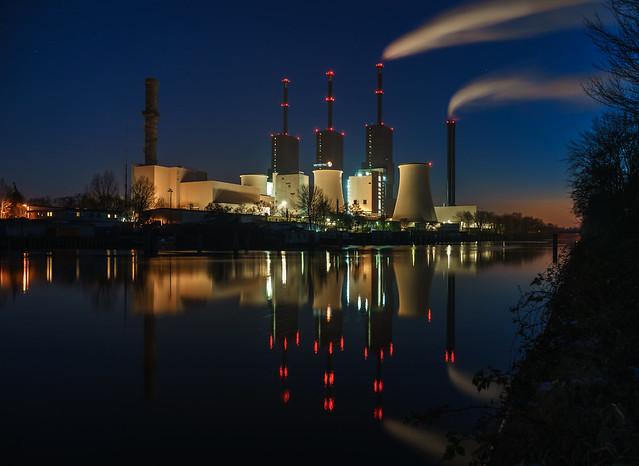 Berlin, Kraftwerk Lichterfelde, Teltowkanal