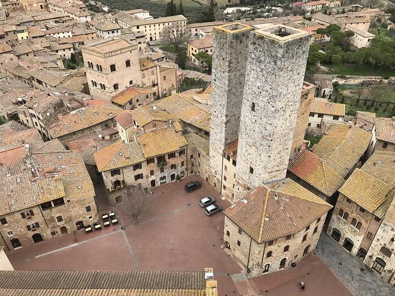 Torre Grossa, San Gimignano, Toscana, Italy.
