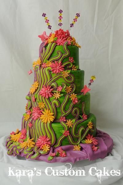 Fantasy Garden Cake