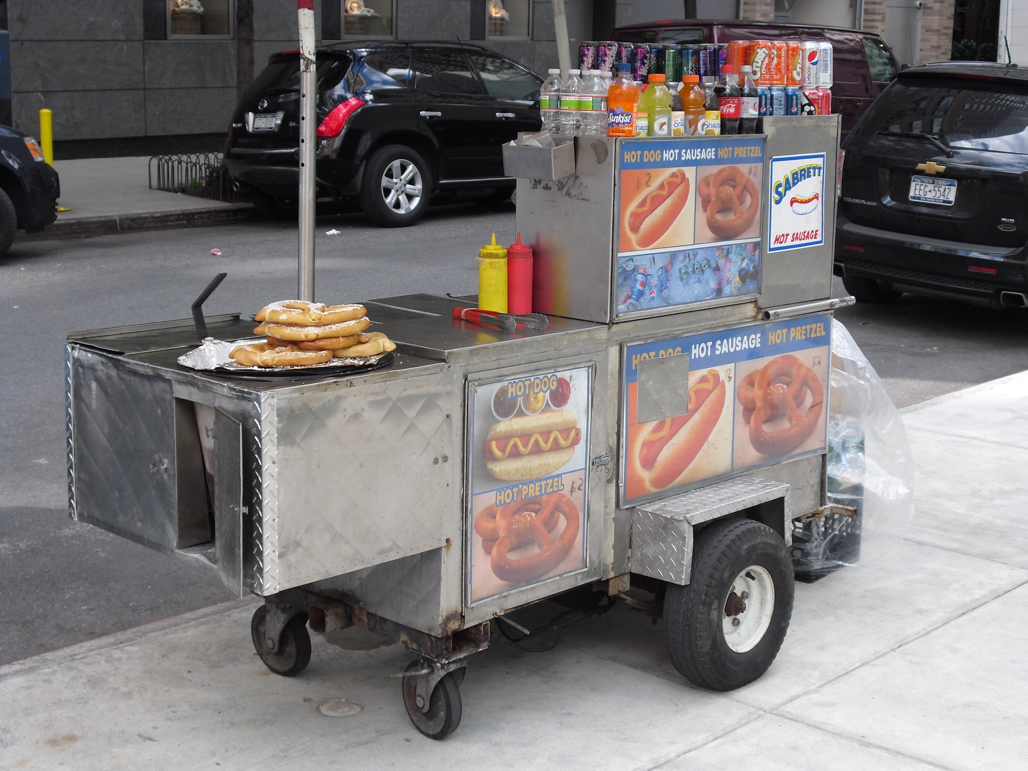 NYC Food cart