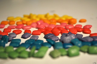 Artificially Coloured Chewing Gum | by Punk Marciano