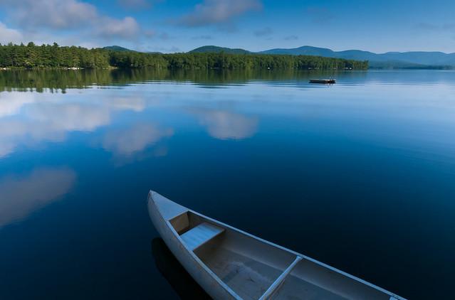 Early Morning on Kezar Lake, Maine