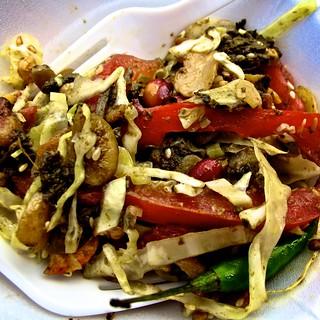 Burmese Tea Leaf Salad | by leesean