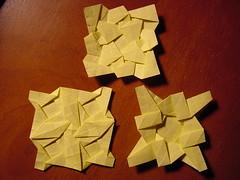 Modular Origami Ninja Star Folding Instructions - How to Make an ... | 180x240