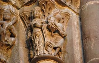 Genève, la cathédrale, chapiteaux gothiques (64) | by roger joseph