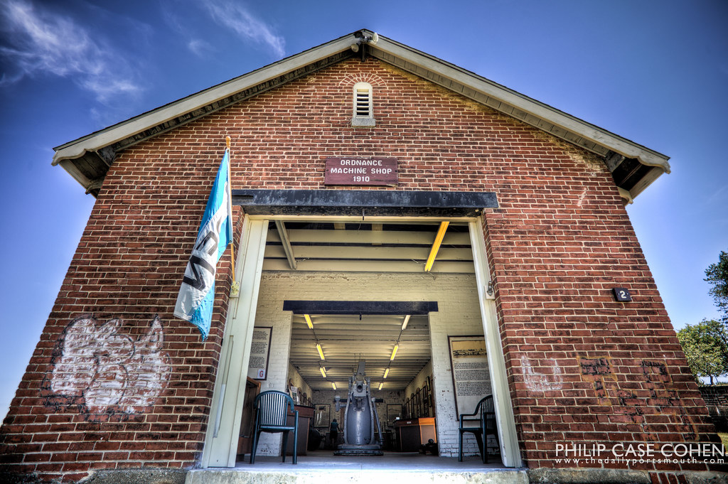 Ordnance Machine Shop | Fort Stark by Philip Case Cohen
