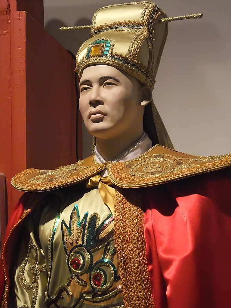 Model of 15th century Ming Dynasty Admiral Zheng He at the… | Flickr