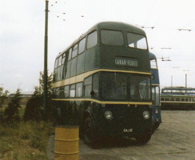 2, GAJ 12, Sunbeam F4, Roe Body (1965), 1950 (Ex-Teeside) (t.1991)