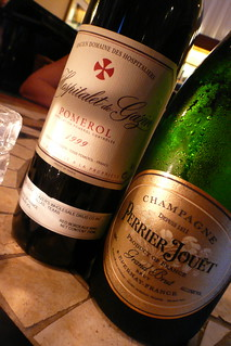 French Dynamic Duo: Champagne & Bordeaux