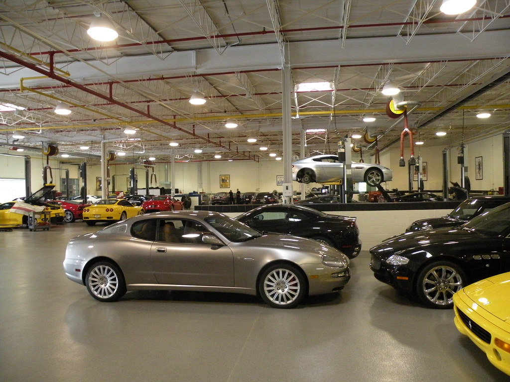 Lake Forest Sports Cars >> Lake Forest Sports Cars The Service Area Hertj94 Photography