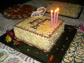 Homemade birthday cake (fruit cake) | by Yvy @ mistyeiz