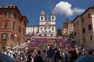 Spanish Steps in Rome | by Steve Carlton