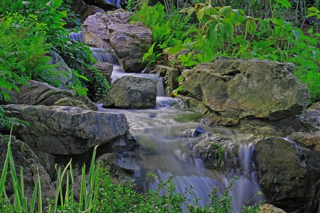 Chicago Botanic Garden Waterfall