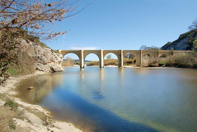 Pont Saint-Nicolas - Sainte-Anastasie (Gard)