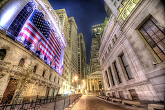 Wall Street in Purple
