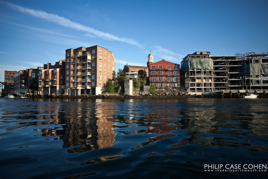 Reflections of A Changing Waterfront by Philip Case Cohen