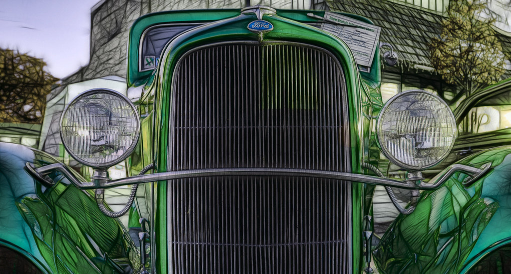 1932 Ford Hot Rod Fractalius 2 by hz536n/George Thomas