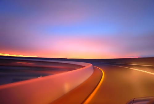 california blue sunset summer sky 3 color northerncalifornia oakland nikon ramp colorful soft pastel smooth overpass august motionblur lane bayarea around eastbay d200 curve 80 emeryville alamedacounty westoakland 2010 roadway offramp macarthurmaze prescot mywinners rottaback