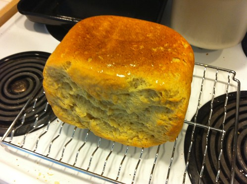 Mmm home made (sort of) gluten-free bread. | by J.P.'s Photos