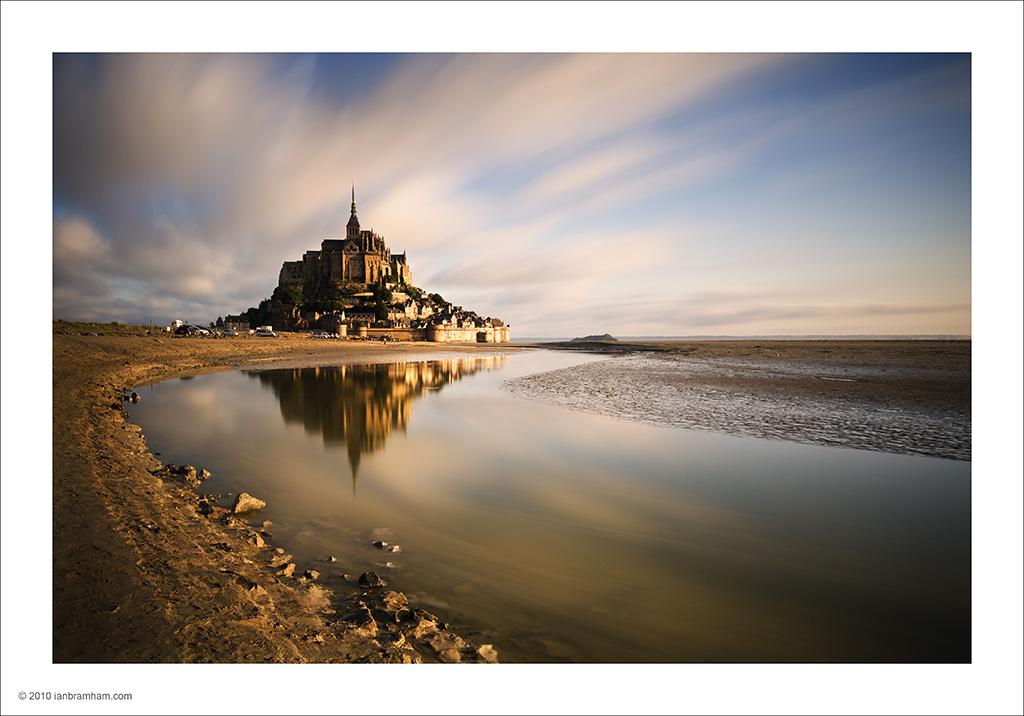 Mont St. Michel by Ian Bramham