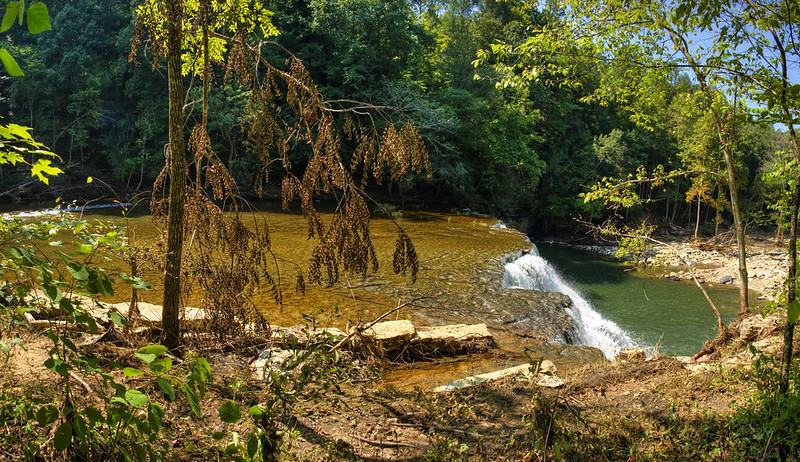 Waterloo Falls, Spring Creek, Overton County, Tennessee 8