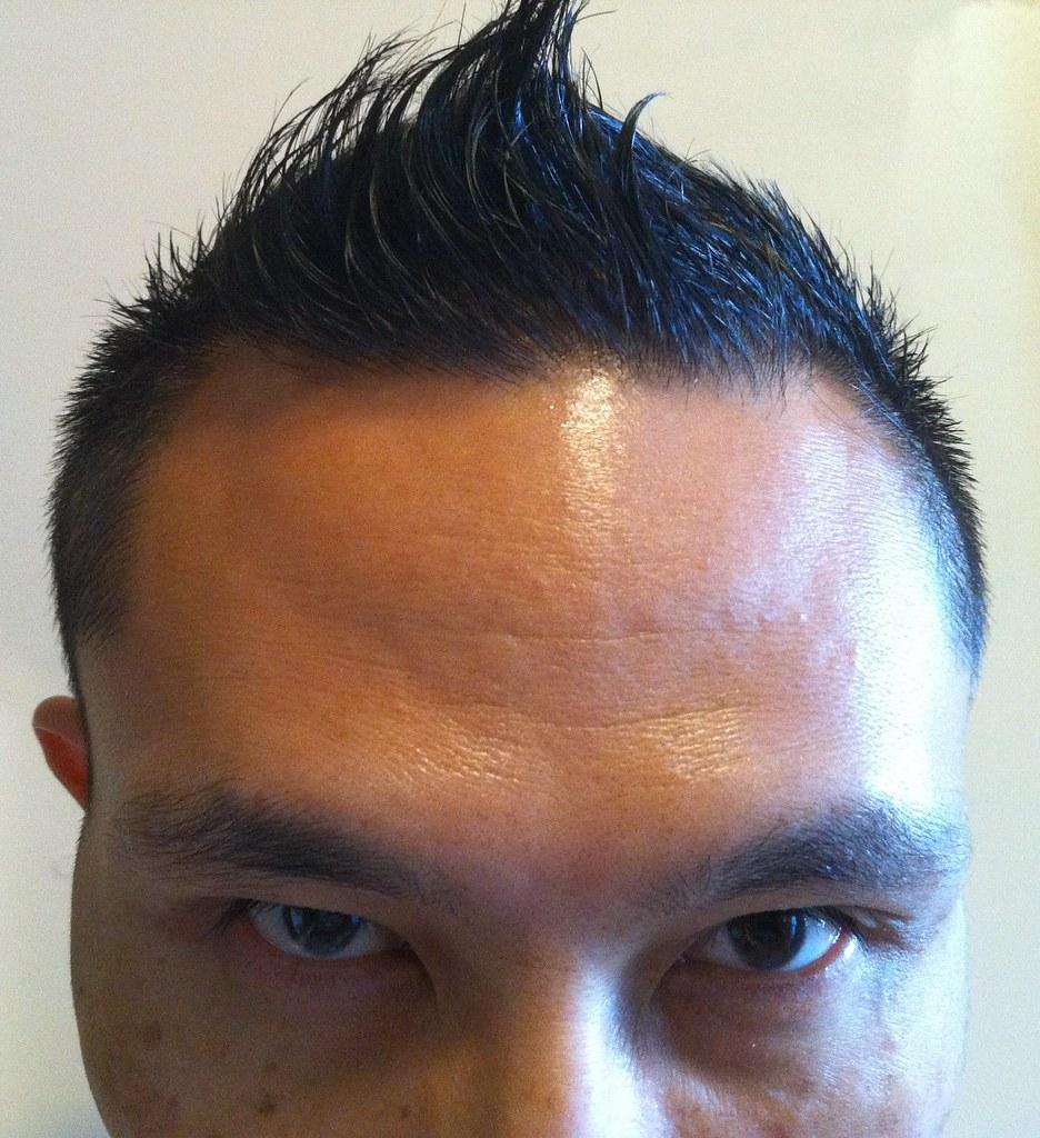 New Tintin Haircut Front Rik Panganiban Flickr
