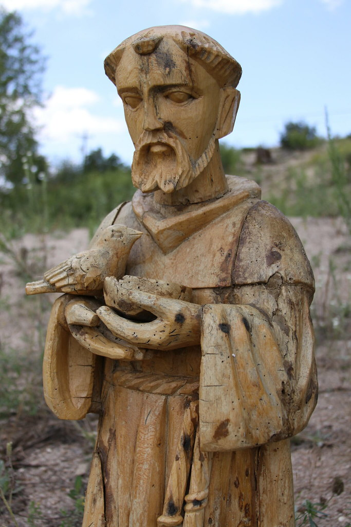 Wood Statue Of Saint Francis Of Assisi Cool Wood Statue Of Flickr