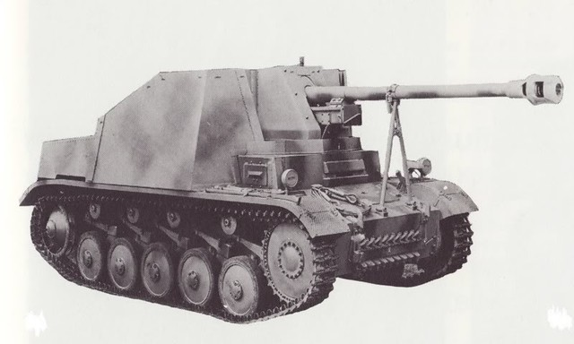 7,5 cm PaK 40/2 auf Fahrgestell Pz.Kpfw. II (Sf) « Marder II » (Sd.Kfz. 131)
