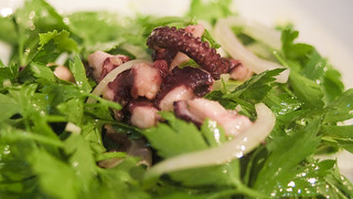 2010-07-08_Parsley-Salad-w-Octopus | by Tavallai
