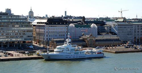 Luxury Motor Yacht 'Senses' in Helsinki   by Ari Helminen