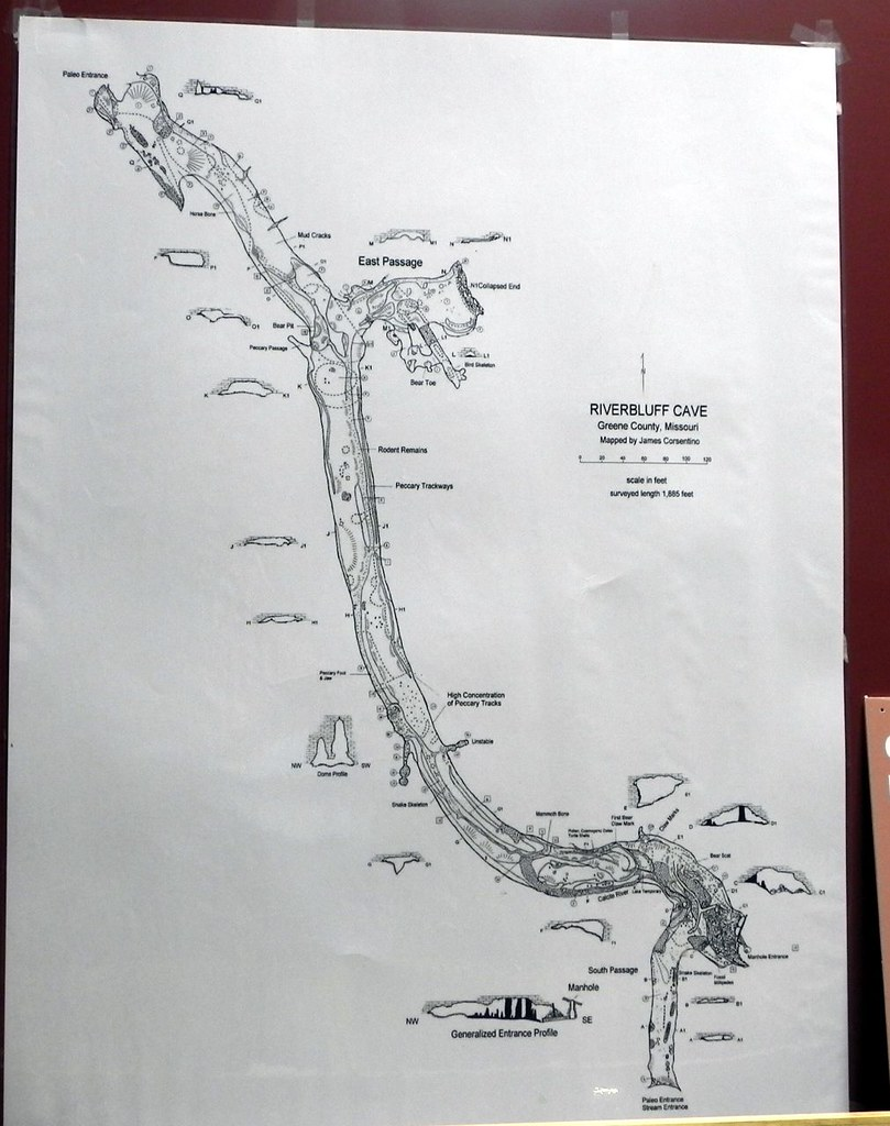 Map of Riverbluff Cave Springfield,Missouri | Rottlady | Flickr