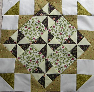 Medalion quilt along 1a and 1b