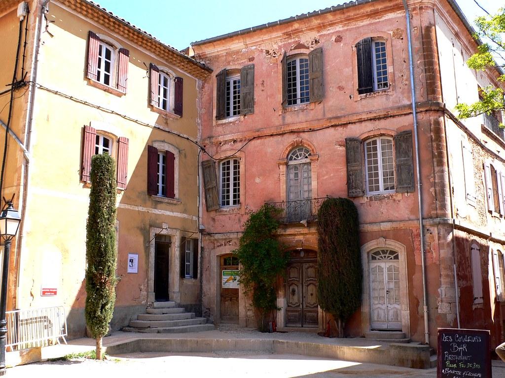 Couleurs Facades En Provence en provence roussillon | jackie bernelas | flickr