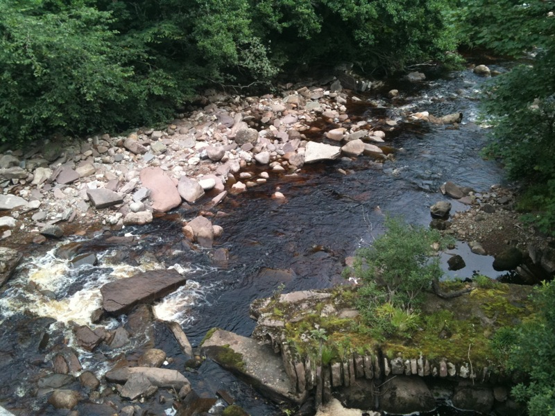 The river at Berriedale