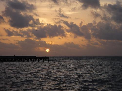 Sunrise in Ambergris Caye, Belize | by Serge Melki