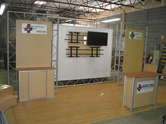 10 x 20' Truss and extrusion modular display